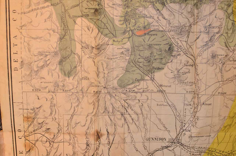 Gunnison Gunnison County Colorado Rare Books Western