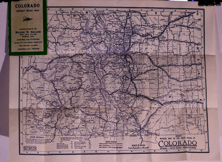Colorado Pocket Maps Clason Map Company And Other Publishing - Colorado state road map