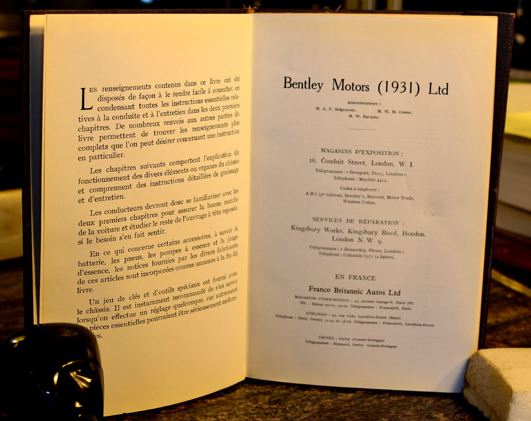 rolls royce and bentley owners manuals parts lists and other books rh mtgothictomes com bentley brooklands owners manual bentley bentayga owners manual