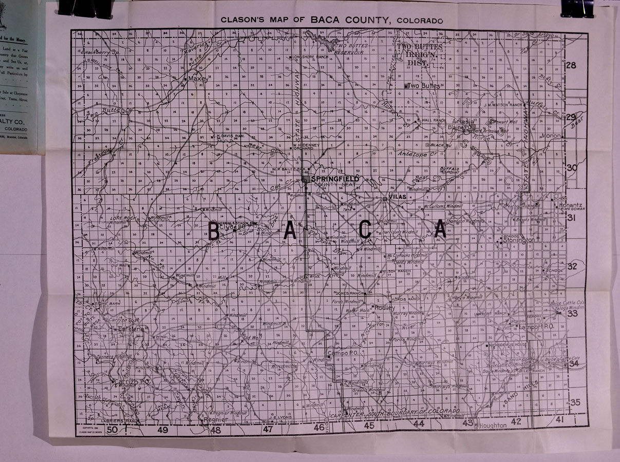 Colorado Pocket Maps Clason Map Company And Other Publishing - County maps of colorado