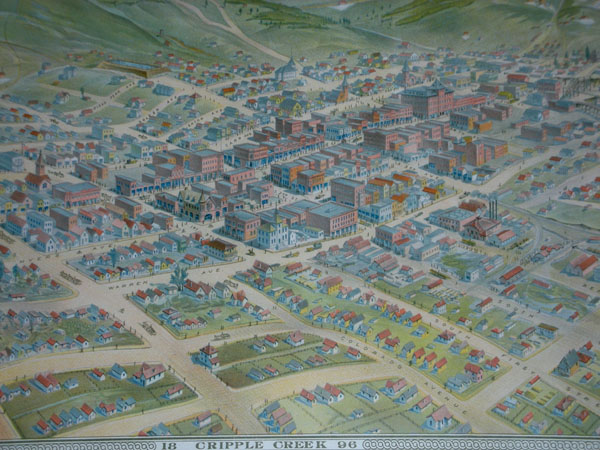 Cripple Creek bird's-eye-view map 5.jpg (98278 bytes)