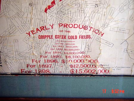 Cripple Creek claim map Dorsey Co 3.jpg (47034 bytes)