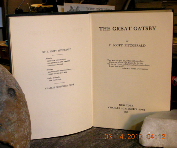 the great gatsby by fitzgerald essay