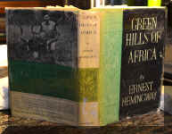 Green Hills of Africa by Hemingway 2.jpg (261673 bytes)