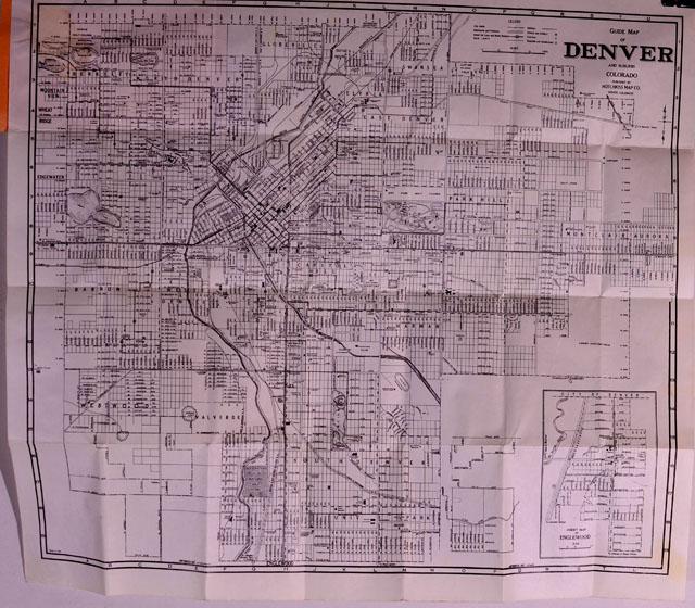 Colorado Pocket Maps Clason Map Company And Other