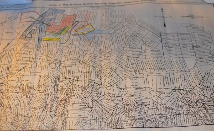 Lake County Colorado Map.Leadville Lake County Colorado Rare Books Old Maps Antique