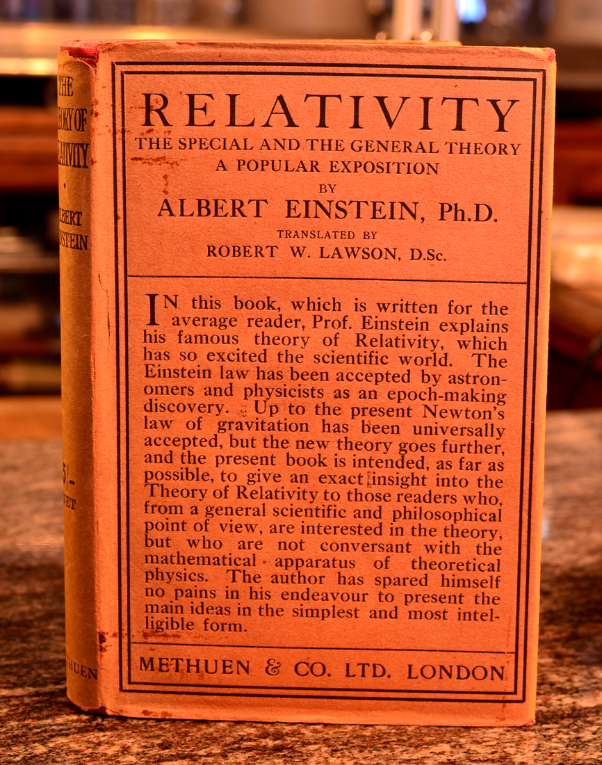 Einstein Theory of Relativity Paper