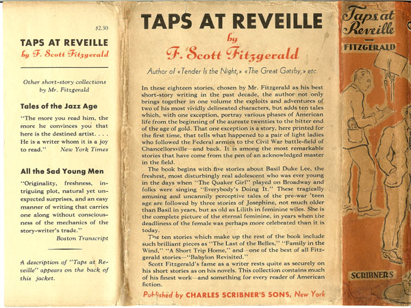 fitzgeralds taps at reveille essay Contributors jeanne m alexander  (1983), zelda and scott/scott and zelda:essays on the fitzgeralds' life,  he has recently finished the edition of taps at.